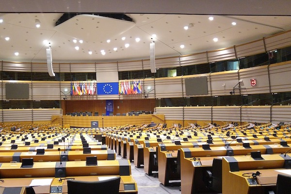 General - EU Parliament voting chamber (Pixabay)