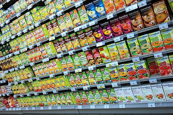 Products, food cartons (photograph: Rene Van Den Berg/123RF)