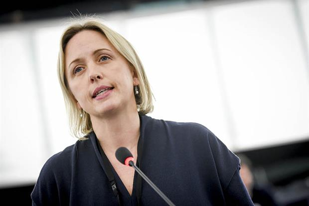 S&D lawmaker Jytte Guteland has proposed substantially more ambitious cuts than the European Commission to the EU's greenhouse gas emissions by 2030. Image: Genevieve Engel / European Parliament