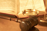 Court gavel and law book (credit: Bora Ucak/Dreamstime.com)