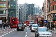 Transport, London traffic (credit: Baloncici/123RF)