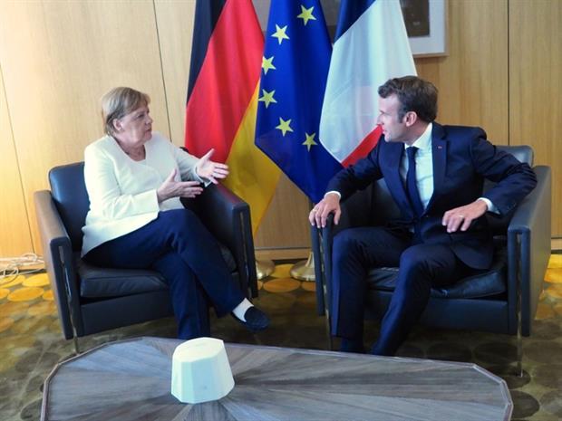 People: Angela Merkel and Emmanuel Macron at the European Council 30 June 2019 (Image: European Union)