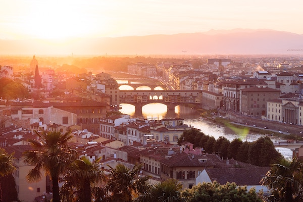 Italy - Florence panoramic view (Mark Tegethoff on Unsplash)
