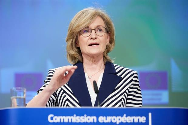 """Finance commissioner Mairead McGuinness: the green taxonomy is """"transformational beyond our wildest thoughts"""". Photo: Claudio Centonze / EU"""