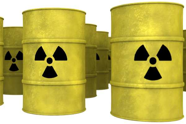 waste - nuclear barrels
