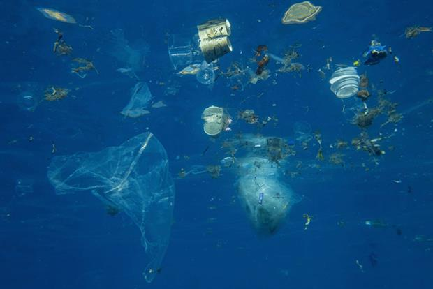Plastic pollution: it is estimated that the amount of waste entering the world's oceans could almost triple by 2040 (Photo: Andrey Nekrasov/Barcroft Media via Getty Images)