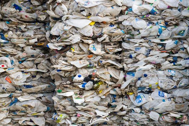 Plastic waste: auditors have warned of a surge in criminal activities regarding the disposal of plastic packaging waste (Image credit: MOHD RASFAN/AFP via Getty Images)