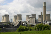 Industrial emissions, UK power plant