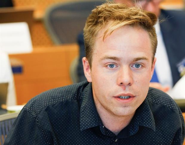 Politics: Rasmus Andresen (Image: Ph. Buissin / European Parliament)