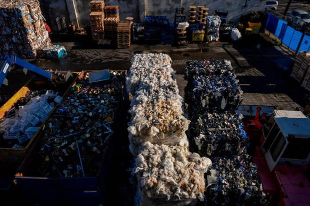 Waste: the EU executive aims to cut the bloc's natural resources use, recycle as much as possible, and minimise the production of residual waste (Photo by JOHN MACDOUGALL/AFP via Getty Images)