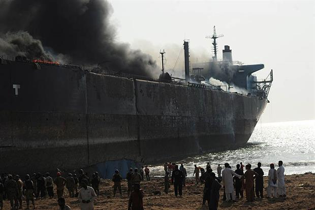 Some 630 ships or floating units were sold for scrap last year (picture: RIZWAN TABASSUM/AFP via Getty Images)