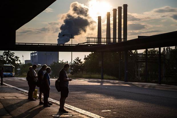 Slovakia: has breached daily limit values of particulate matter pollution since 2005. Photo: VLADIMIR SIMICEK/AFP via Getty Images