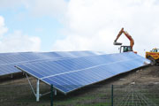 Renewable energy, solar panels (Credit: Cornwall County Council)