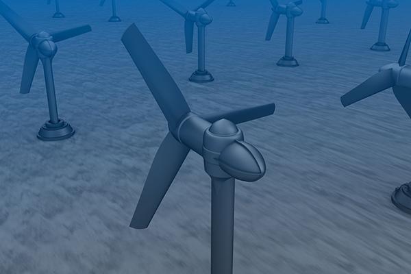 Energy, renewables, tidal turbines (photograph: alexmit/123RF)