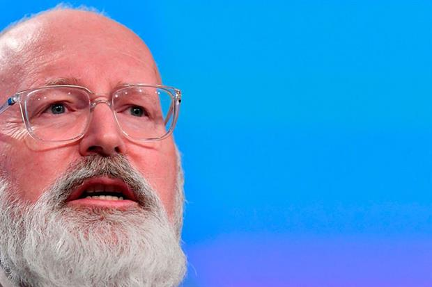 Timmermans: made pointed warning to lobbyists (Photo by JOHN THYS/AFP via Getty Images)
