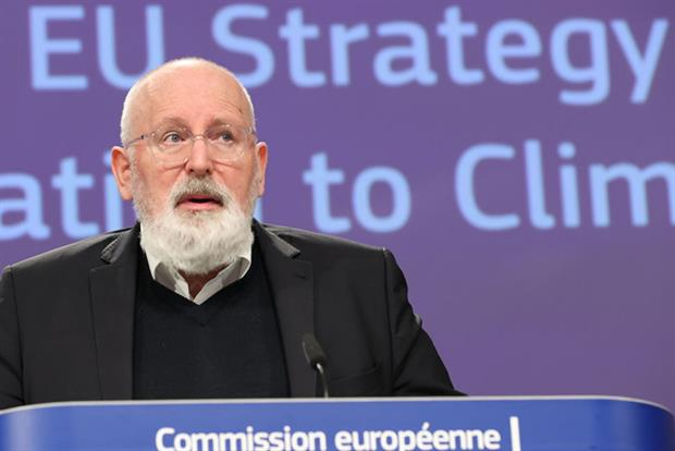 Timmermans: 'The more the climate crisis progresses, the bigger the battle for water will become' (Photo by Dursun Aydemir/Anadolu Agency via Getty Images)