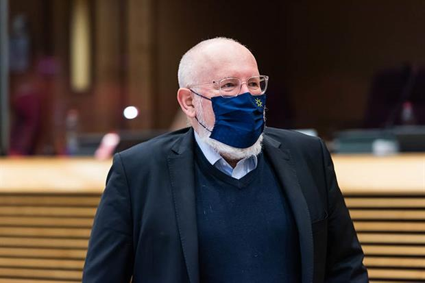 Timmermans: 'We want to be surgical, we don't want this to be a blanket thing'. Photo: EC / European Union