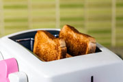 Energy using product, toaster (credit: Ak Watchreewong Na Ayutthya/123RF)