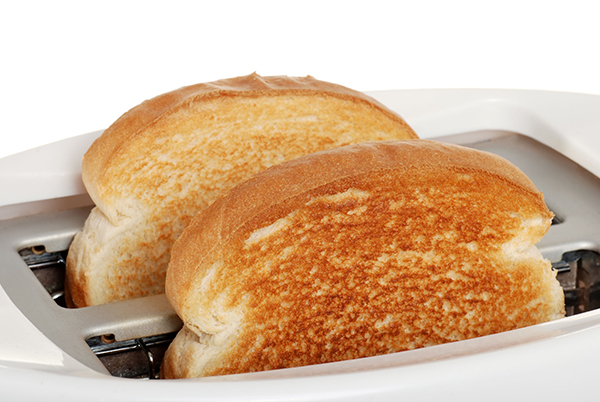 Energy using products, toaster (photograph: Michael Gray/123RF)