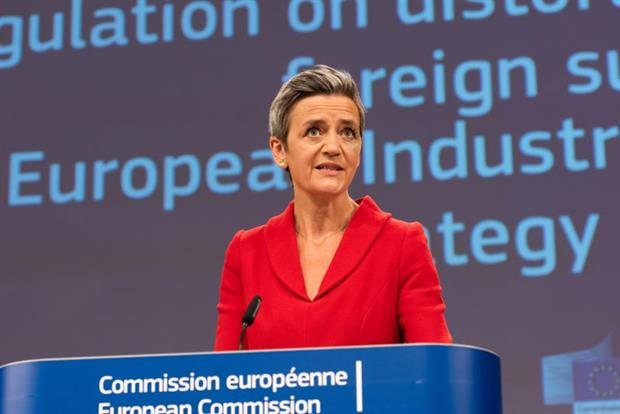 """Vestager: """"A genuine dialogue with industry and stakeholders is crucial to us."""" Photo: Aurore Martignoni / EC - Audiovisual Service"""