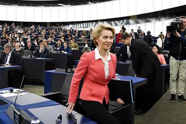 Ursula von der Leyen (photo: European Parliament)