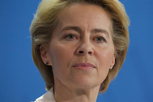 Ursula von der Leyen: promised European Green Deal within 100 days of taking office (Photo by Sean Gallup/Getty Image)