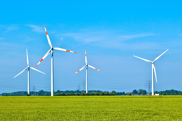 Renewables, wind farm in Germany (photograph: Joerg Hackemann/123RF)