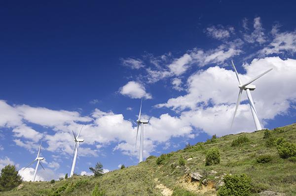 Renewables, wind farm in Aras, Navarre, Spain (Photograph: Pedro Antonio Salaverría Calahorra)