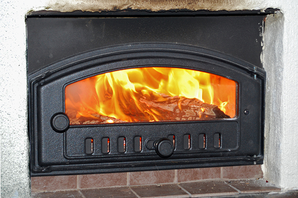 Energy wood burner (Photograph: David S/Flickr)