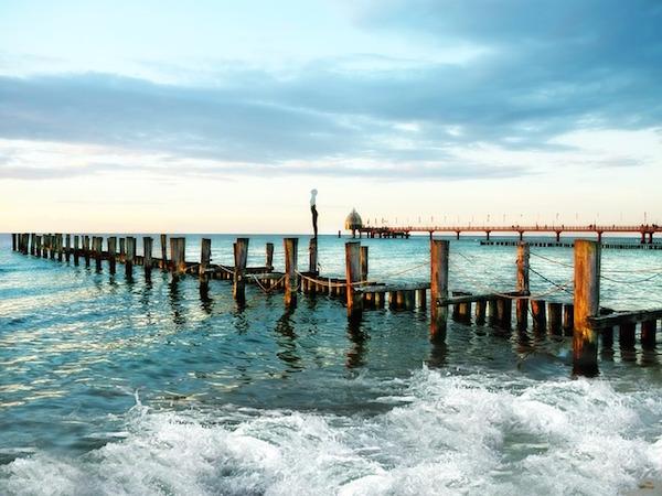 Baltic Sea - beach with pier (Pixabay)