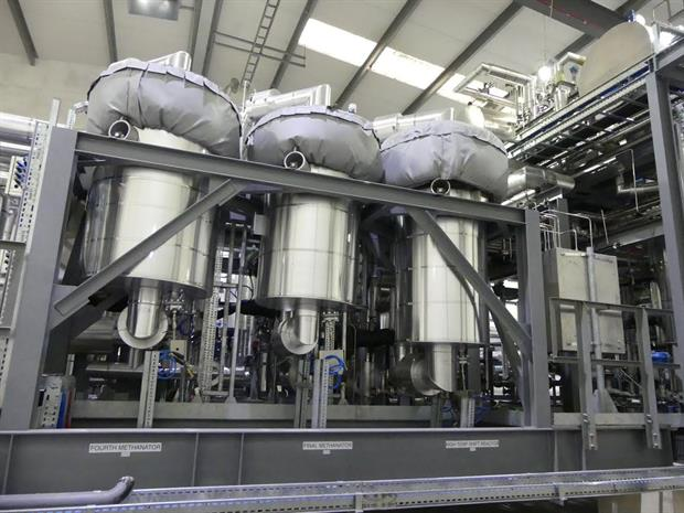 The plant's technology, image copyright ABSL