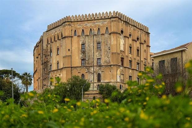 The seat of the Sicilian parliament, Palazzo dei Normanni. Photograph: Jorge Franganillo/Wikimedia Commons