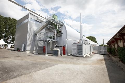 A Kompogas built facility