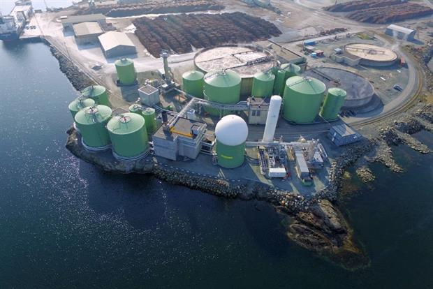 The Biokraft Skogn plant will be expanded. Photograph: Biokraft AS