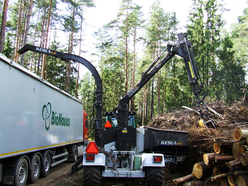First Opportunity gathering biomass under its old name Bionovus