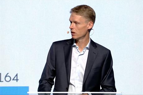 Chief executive, Henrik Poulsen reveals the name change