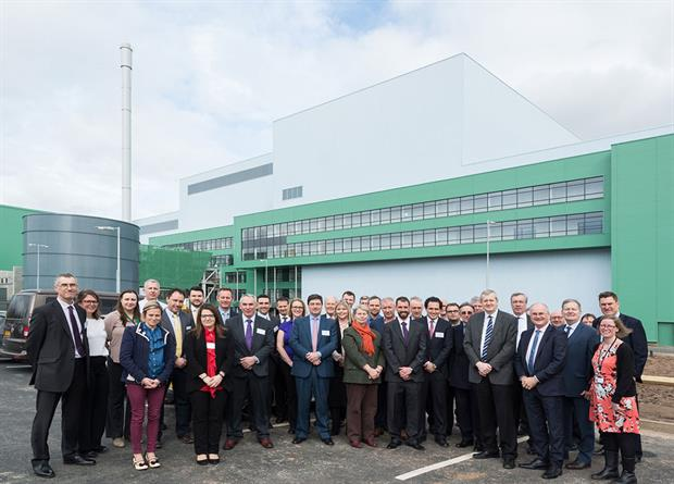 The EnviRecover EfW plant's opening