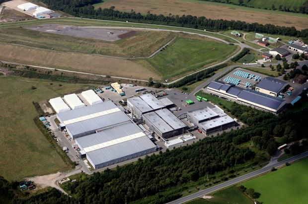 The German MBT plant treats 200,000 tonnes of municipal waste every year