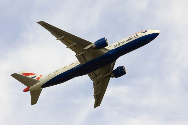 Domestic aviation will be fully sustainable by 2040, says the UK government. Photograph: Tim Graham / Getty Images