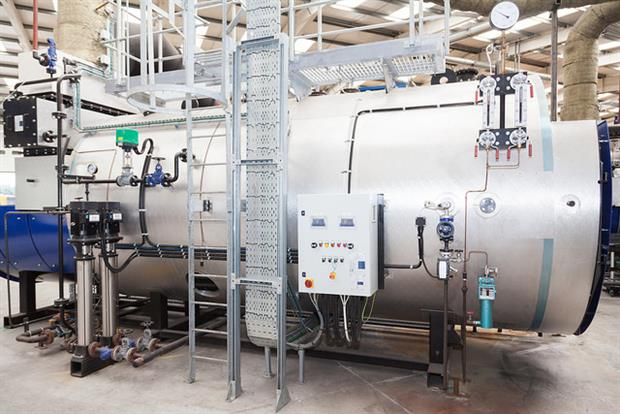 The company's pyrolysis plant, which opened earlier this year. Image HEG