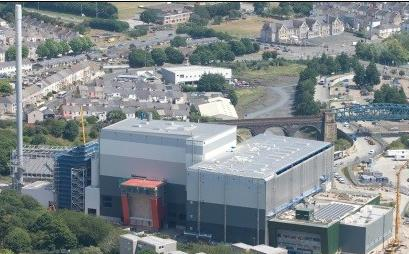 The Plymouth EfW plant