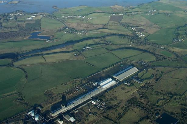 An artist's impression of how the facility would have looked