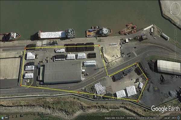 N&P's site at Port of Grimsby