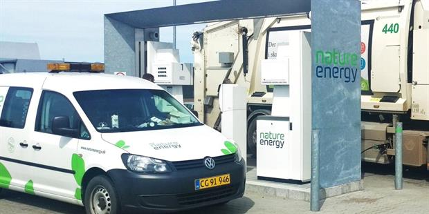 A Nature Energy filling station