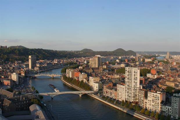 A view of Liège. Credit: CC BY-SA 3.0 A.Savin