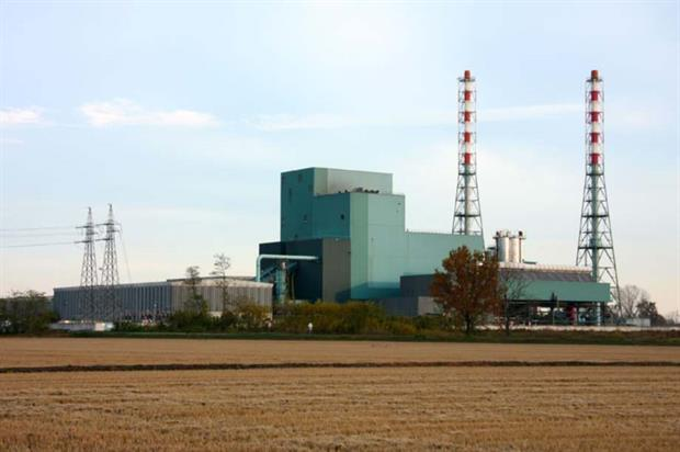 Lomellina Energia's EfW plant in Parona, Lombardy. Credit: CC BY-SA 3.0 Alessandro Vecchi