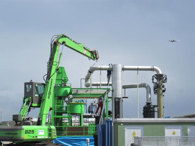 Earlier construction testing for PowerHouse's system in Germany