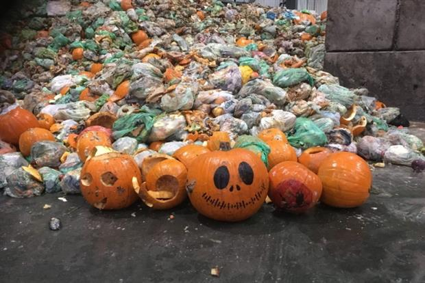 Severn Trent Green Power is expecting an influx of waste pumpkins. Photograph: Severn Trent
