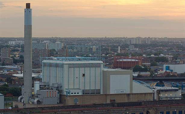 London's SELCHP EfW plant supplies a heat network