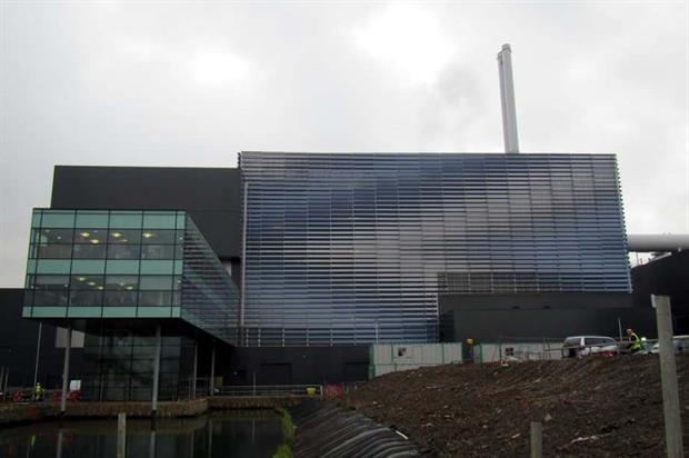 SITA's new EfW plant in Great Blakenham, Suffolk